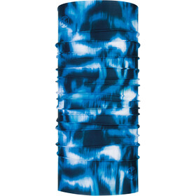 Buff Coolnet UV+ Neck Tube Yule Seaport Blue
